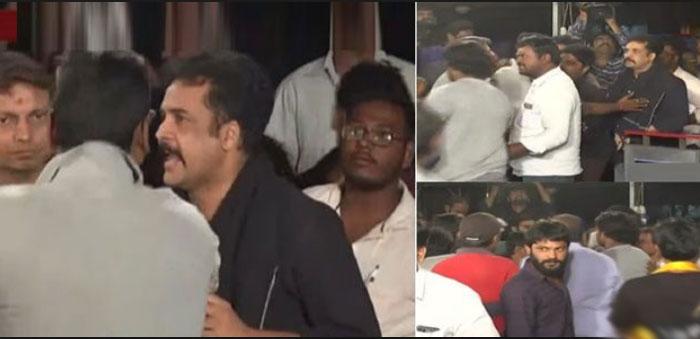 hero sivaji,bjp leaders,attack,slogans  శివాజీపై దాడి.. అదే పవన్పై జరిగి ఉంటే?