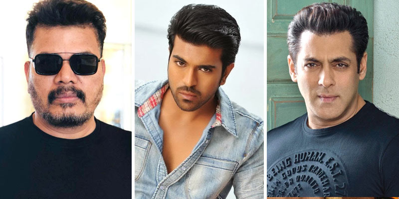 bollywood hero,salman khan,no-nonsense police officer,ram charan,shankar,ram charan - shankar combo movie  చరణ్ - శంకర్.. సూపర్ గాసిప్