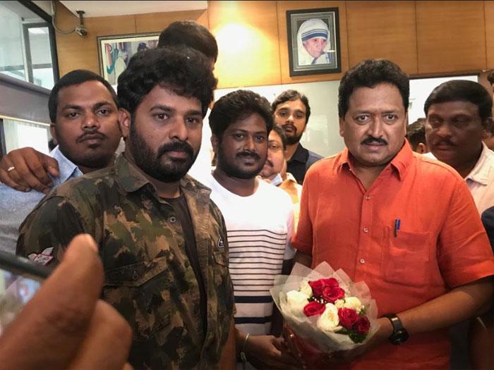 swamy naidu,mohan krishna,gang leader,teaser,release  చిరు బర్త్డే స్పెషల్: 'గ్యాంగ్లీడర్' టీజర్ విడుదల