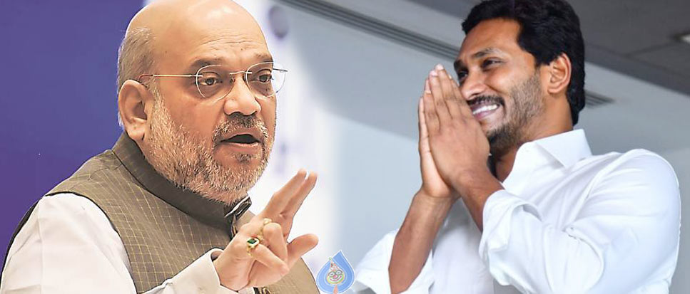 ap cm ys jagan mohan reddy,delhi,home minister amit shah,amit shah  జగన్.. అమిత్షాను అవే అడిగెన్