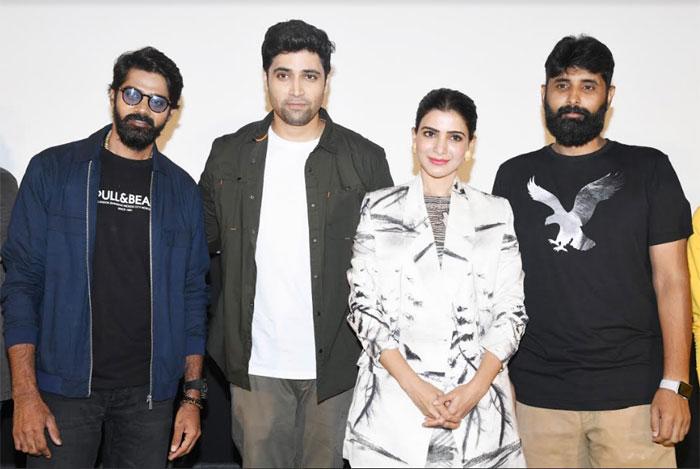 samantha,evaru movie,teaser,launches  'ఎవరు' టీజర్ వదిలారు..!
