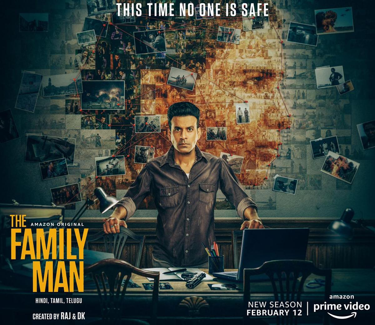 the family man,season 2,manoj bajpayee,samantha akkineni,priyamani,the family man,the family man season 2,february 12  సమంత రాక కన్ఫర్మ్ అయ్యింది