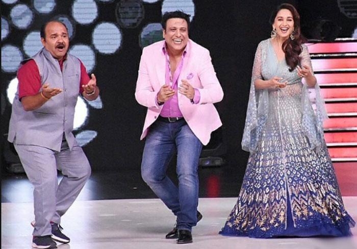dancing uncle,sanjeev shrivastava,govinda,madhuri dixit  డ్యాన్సింగ్ అంకుల్ జోరు మామూలుగా లేదు!