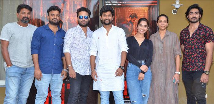 hit movie,thanks meet,nani,viswaksen,hit telugu movie  'హిట్' ఇచ్చిన అందరికీ థాంక్స్: నాని