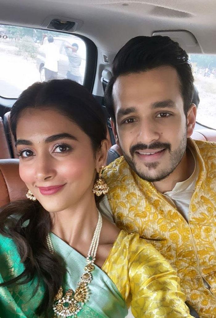 akkineni akhil,pooja hegde,pooja new movie,bommarillu bhaskar  అఖిల్తో పూజ ఎలా ఉంది!!