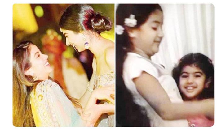janhvi kapoor,wishes,sister khushi kapoor,18th birthday,throwback video  జాన్వీ, ఖుషి.. బంధం చాలా ధృడమైనది..!