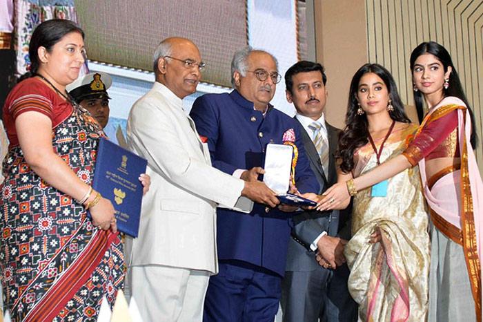 boney kapoor,khushi,janhvi kapoor,national award,sridevi  శ్రీదేవి ఉంటే ఎంత ఆనంద పడేదో: బోనీ..!
