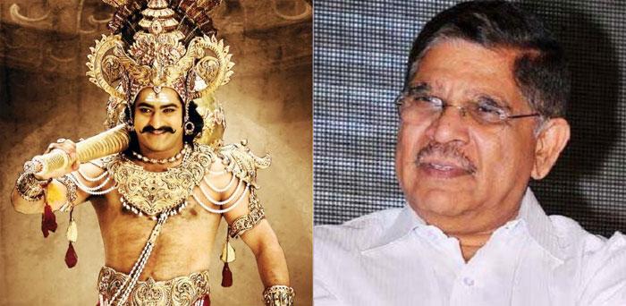 jr ntr,allu aravind,ramayan,lord rama role  రాముడిగా ఎన్టీఆర్ అయితే బెటరంట!