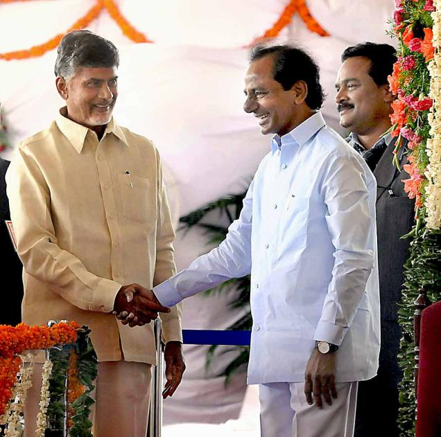 kcr,chandrababu,meeting,rajbhavan,president  కేసీఆర్, బాబుల పలకరింపులు చూడతరమా..??