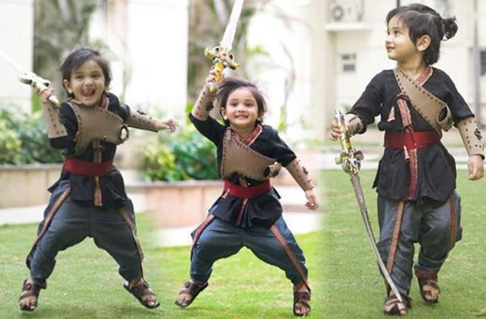 cute,little,sye raa narasimhareddy,rocks,director,surender reddy,son,arik reddy  సూరి కుమారుడు 'సైరా.. బుల్లోడు'..!
