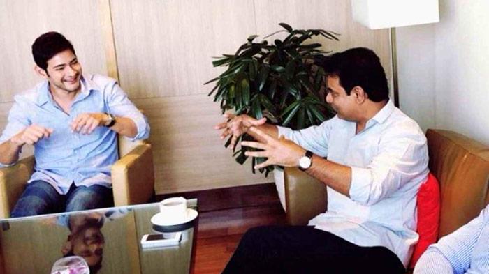 mahesh babu,ktr,bharat ane nenu,aagadu movie  కేటీఆర్ ముక్కుసూటితనం అలాంటిది!