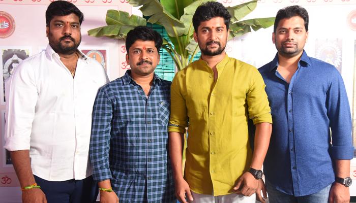 hero nani,shiva nirvana tuck jagadish cinema launched,shine screens banner,tuck jagadish movie,hero nani new movie tuck jagadish,tuck jagadish  26@నాని టక్ జగదీష్ ప్రారంభం!