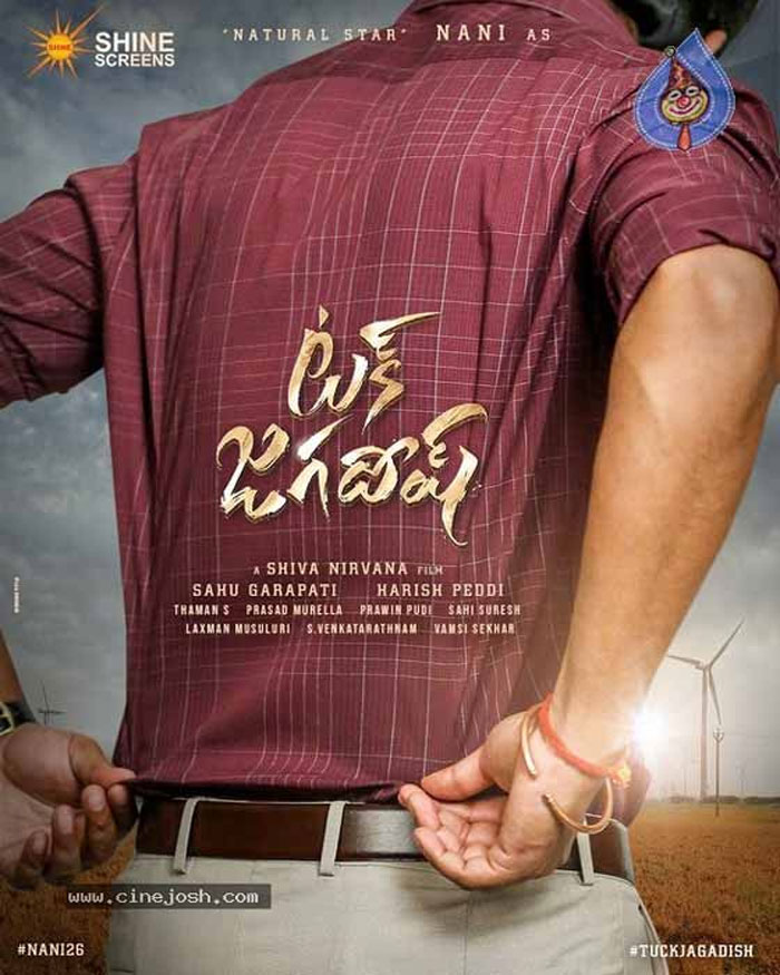 hero nani,tuck jagadish,title,poster,release  'టక్ జగదీష్'గా నేచురల్ స్టార్