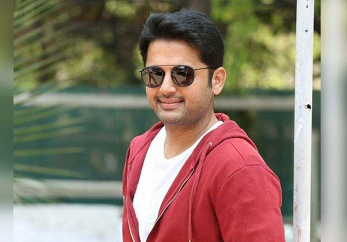 nithiin,bheeshma,success,trivikram srinivas,a aa movie  'భీష్మ'తో హ్యాపీ మూడ్లోకి నితిన్..!