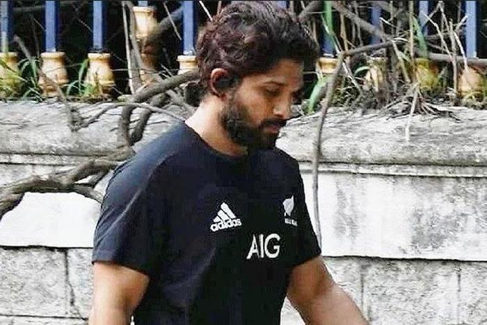 allu arjun,lockdown,look,stylish star,allu arjun look,pushpa movie  అల్లు అర్జున్ లుక్లో నో ఛేంజ్..!