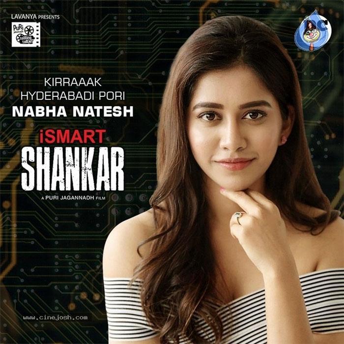 nabha natesh,puri jagannadh,ram,ismart shankar,second heroine  'ఇస్మార్ట్ శంకర్' మరో హీరోయిన్ కూడా ఫిక్స్!
