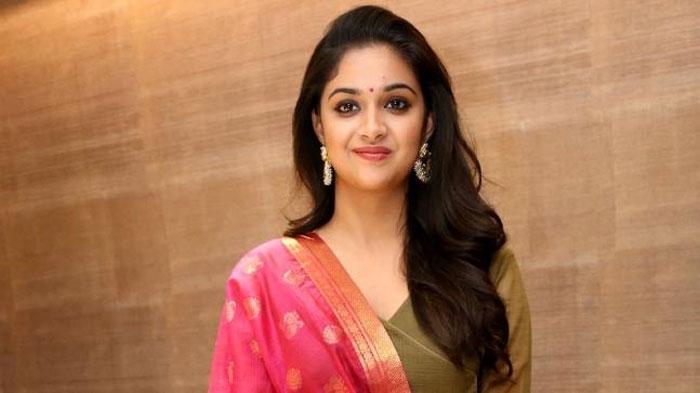 keerthi suresh,no,balakrishna,boyapati srinu,movie,heroine  బాలయ్యకి 'మహానటి' ఝలక్..!!