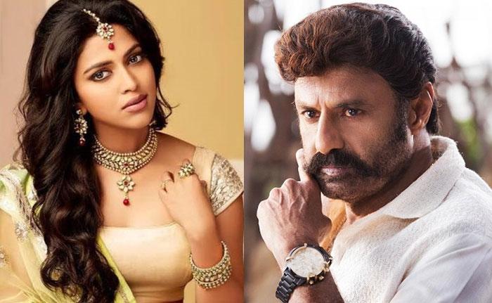 amala paul,boyapati srinu,balakrishna,heroine,bb3 movie  బాలయ్యకు హీరోయిన్ దొరికేసింది..!