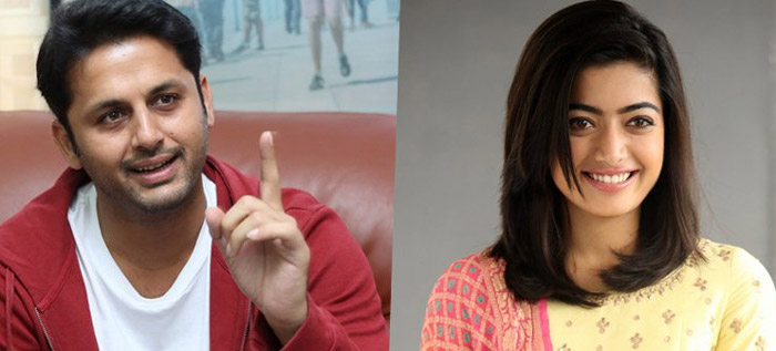 rashmika mandanna,nithin,movie,geetha govindam  మరో తెలంగాణ స్టార్కి.. రష్మిక హిట్టిస్తుందా?