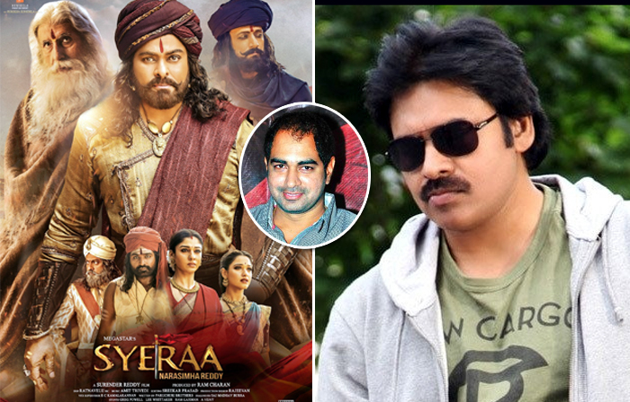 pawan-krish film,bigger than sye raa,pawan kalyan,director krish,pink remake  'సైరా'ను మించి పవన్-క్రిష్ కాంబోలో మూవీ!!