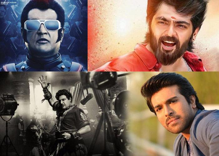 ram charan,balakrishna,rajinikanth,ajith,movies,pongal 2019  చరణ్, బాలయ్య, రజినీ, అజిత్.. ఒకేసారి దిగితే?
