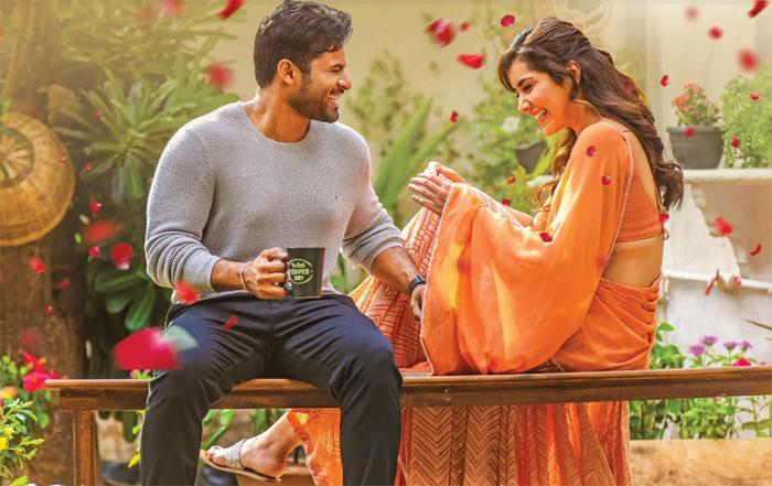 prathiroju pandage movie,shooting update,song shooting balance,sai tej,maruthi  'ప్రతిరోజూ పండగే'కు ఒక్క పాటే బ్యాలెన్స్