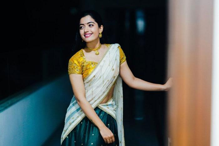 rashmika mandanna,heroine,top heroine,top heroes,mahesh babu,allu arjun,vijay  గీతా మేడమ్కి పోటీ లేకుండా పోతోంది!