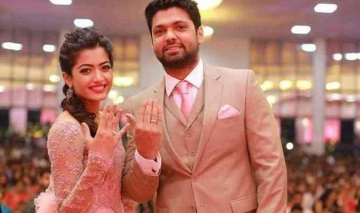 rashmika mandanna,engagement,rakshit shetty,break  కిరాక్ భామ కాబోయే వాడికి షాకిచ్చింది!