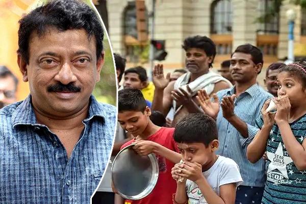 rgv,ramgopal varma,satirical tweet,indians,janatha curfew,claps  భారతీయులపై ఆర్జీవీ వెటకారం!!