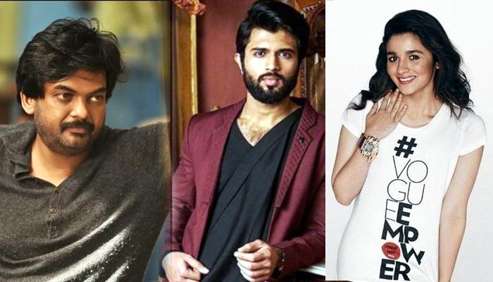 rrr heroine,alia bhatt,puri fighter,vijay devarakonda,puri jagannadh  'ఫైటర్' కోసం RRR భామను పట్టుకొస్తున్న పూరీ!