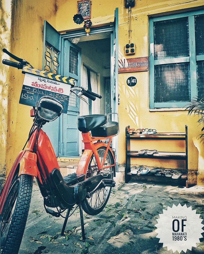 samantha,mahanati,bike pic,viral,social media  అక్కినేని సమంత బైక్ చూశారా!