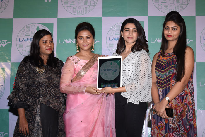 tabitha sukumar,business,samantha,laundry kart app,launched  లాండ్రీకార్ట్ యాప్ ఆవిష్కరించిన సమంత