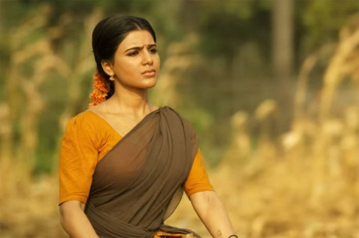 samantha,rangasthalam,ramalakshmi role,jaanu movie  సమంత ఆ విషయంలో వేళ్ళు పెట్టదట!