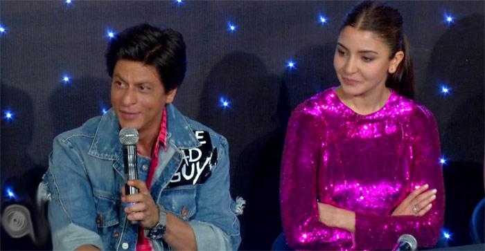 shahrukh khan,speaks,telugu,zero trailer,launch  తెలుగులో షారూఖ్: 'హా.. బాగున్నా బాగున్నా'