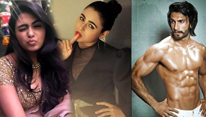 arjun reddy actress,shalini pandey,bollywood,ranveer singh,jayeshbhai jordaar  షాలినీ పాండే లక్కీ ఛాన్స్.. ఫుల్ జోష్!!