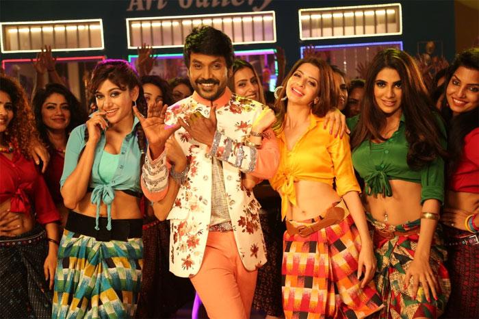 raghava lawrence,1400 dancers,kanchana 3,movie song,budjet  'కాంచన 3' ఒక్క సాంగ్కే కోటీ 30 లక్షలు