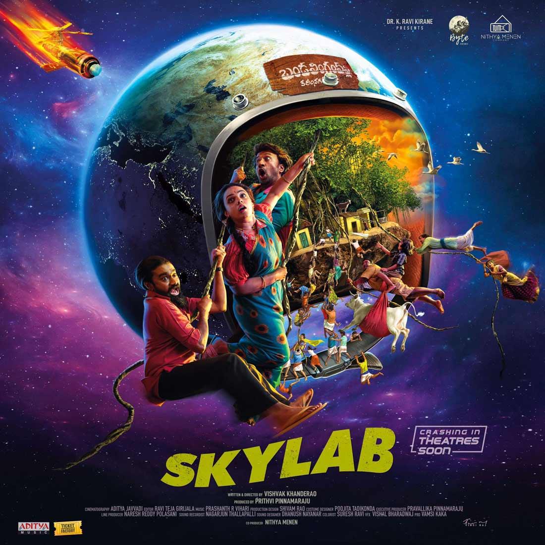 skylab movie,sathyadev,nithya minan,rahul ramakrishna,viswak khanderao  స్కైలాబ్.. త్వరలోనే థియేటర్స్లో