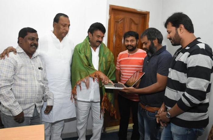 talasani srinivas yadav,software sudheer,website,sudigaali sudheer  'సాఫ్ట్వేర్ సుధీర్' మరో అడుగేశాడు