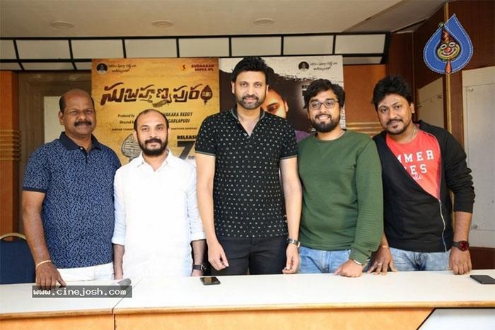 subrahmanyapuram success meet,sumanth,success meet,subrahmanyapuram movie  'సుబ్రహ్మణ్యపురం'కు డబ్బులొచ్చేశాయట!