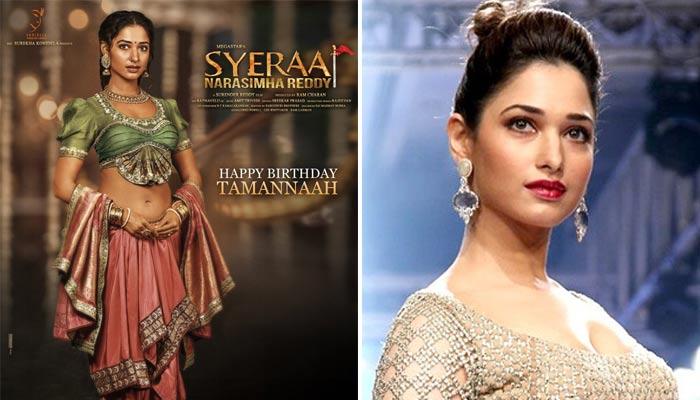 actress tamanna,role,syra,laxmi  'సైరా'లో తన పాత్రను రివీల్ చేసిన మిల్క్ బ్యూటీ!