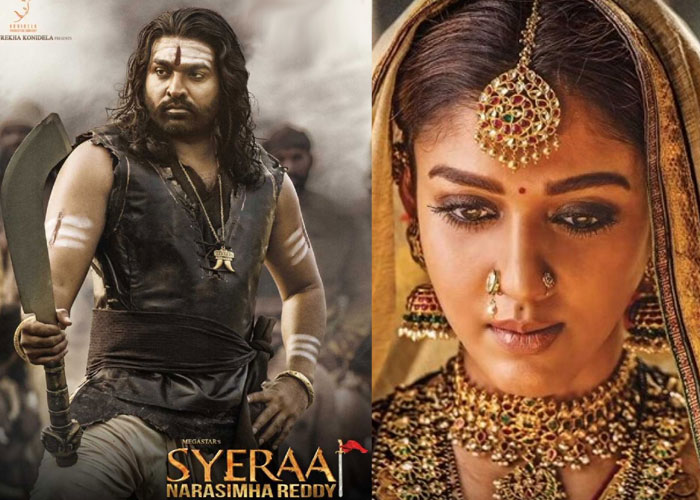 nayanthara,vijay sethupathi,sye raa narasimha reddy,tamil promotions,chiranjeevi,ram charan  'సైరా'కి వాళ్ళ క్రేజ్ ఎంతవరకు పనికొస్తుందో!