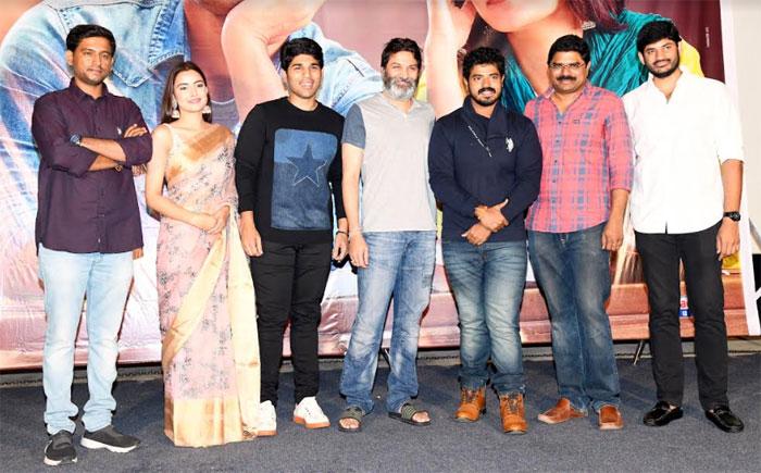 allu sirish,trivikram srinivas,abcd movie,trailer,launch  'ఏబీసీడీ' పెద్ద హిట్టవుతుంది: త్రివిక్రమ్