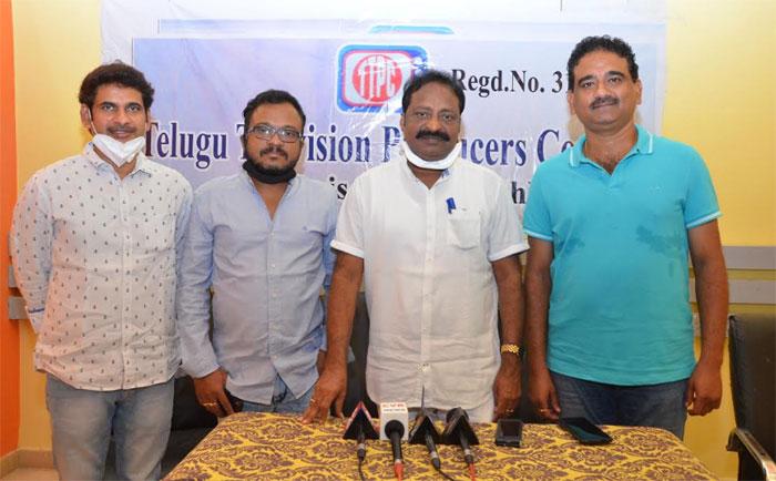 telugu television producers council,ap released go,shootings,vijay chander,ap cm,ys jagan mohan reddy  ఏపీ సీఎం జగన్కి కృతజ్ఞతలు: టిటిపిసి