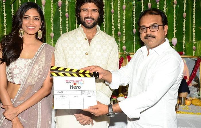 hero vijay deverakonda,new film,hero,launched  విజయ్ దేవరకొండ 'హీరో'.. ఇది ఫిక్స్!