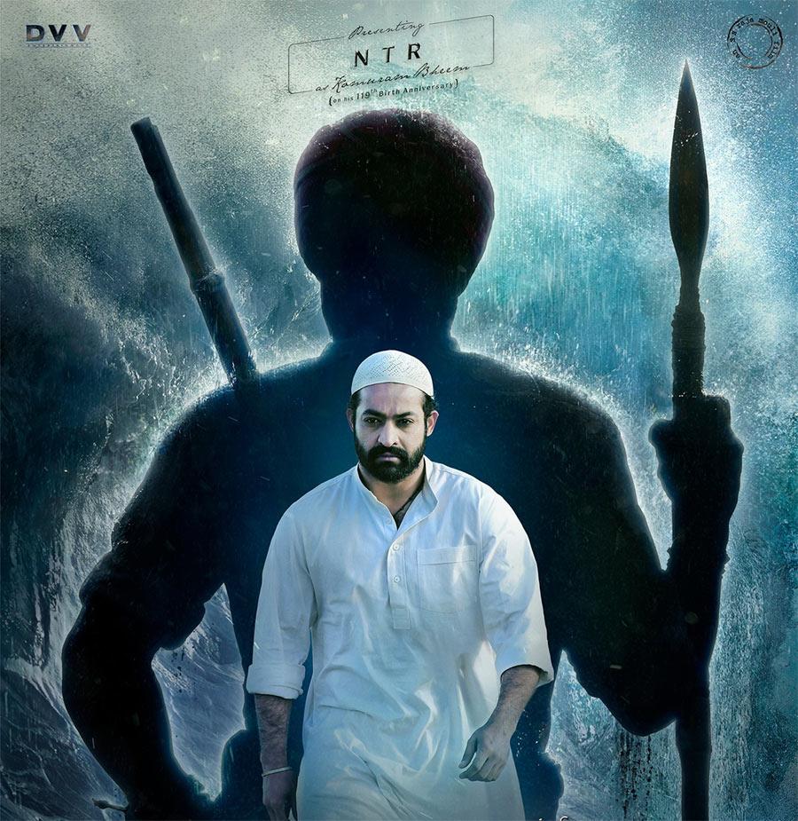 rrr movie,vijayendra prasad,rrr controversy,jr ntr as komaram bheem,ntr muslim get-up,rajamouli  అందుకే ఎన్టీఆర్ ముస్లిం గా మారాడు