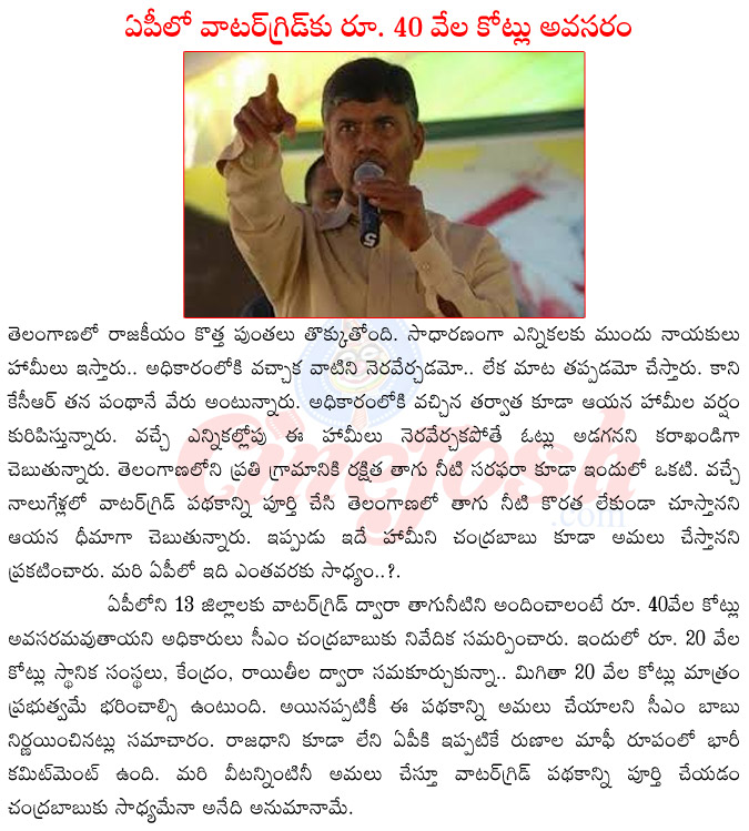 watergrid in ap,cm chandra babu naidu,telangana cm kcr,kcr vs chandra babu naidu,kcr about water grid,chandra babu naidu about water grid,kcr vs chandra babu nadu,water grid estimation in ap  watergrid in ap, cm chandra babu naidu, telangana cm kcr, kcr vs chandra babu naidu, kcr about water grid, chandra babu naidu about water grid, kcr vs chandra babu nadu, water grid estimation in ap