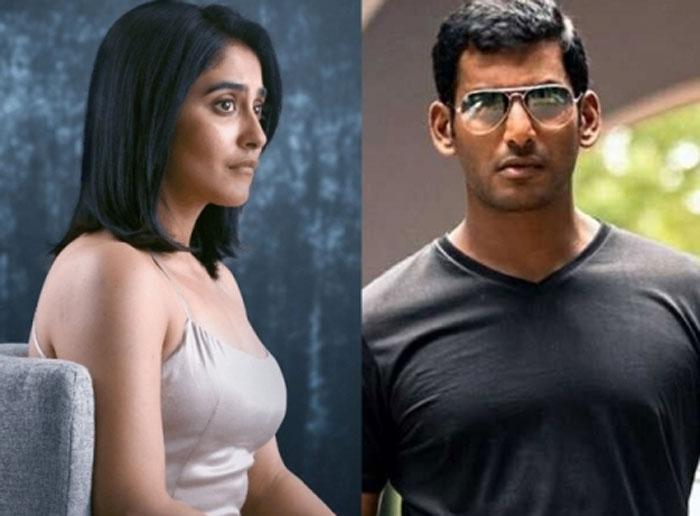 vishal,chakra movie,villain,regina,chakra movie trailer,hero vishal movie  విశాల్ 'చక్ర'లో విలన్ ఆ హీరోయిన్నా..?